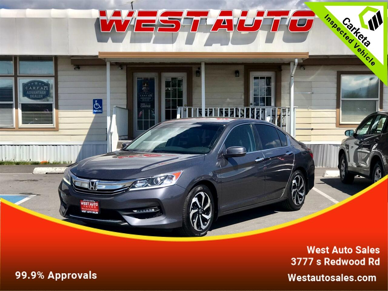 Honda Accord Sedan EX-L CVT 2017