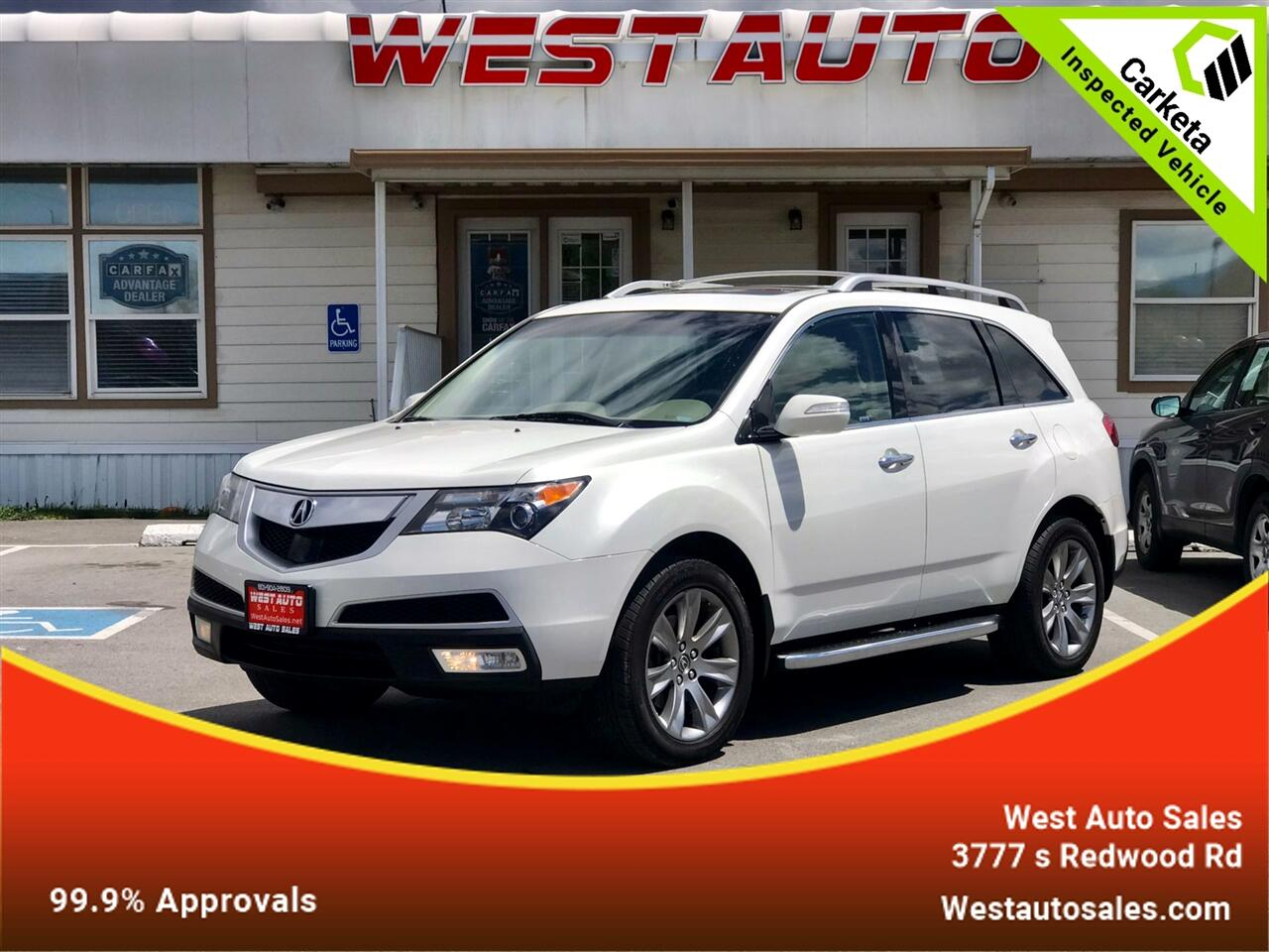 Acura MDX AWD 4dr Advance Pkg 2013