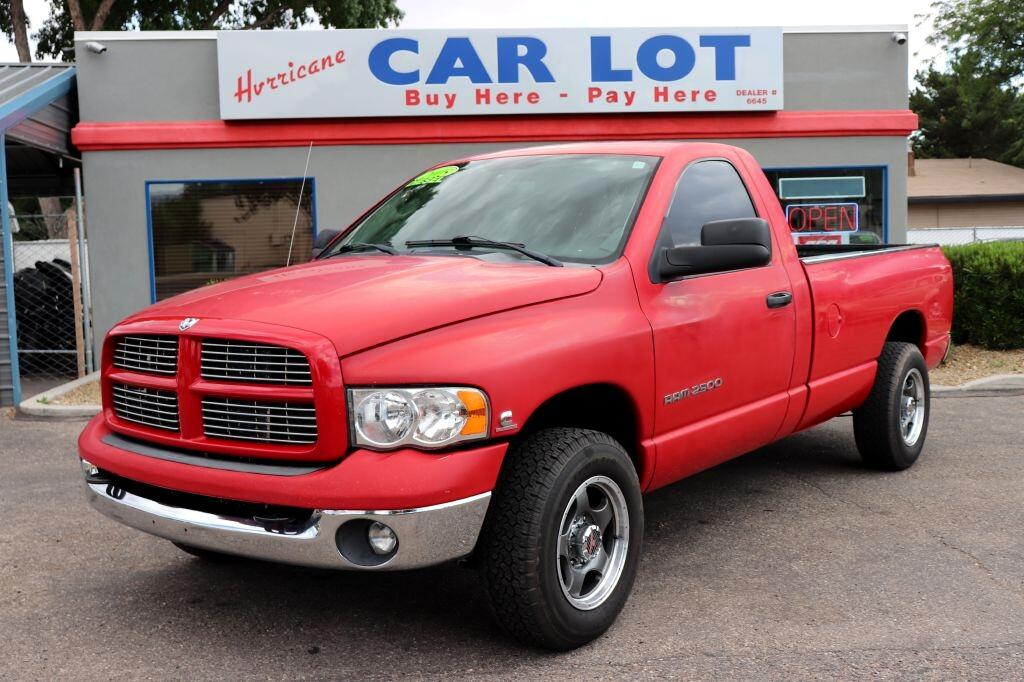 2005 Dodge Ram 2500 ST Long Bed 2WD