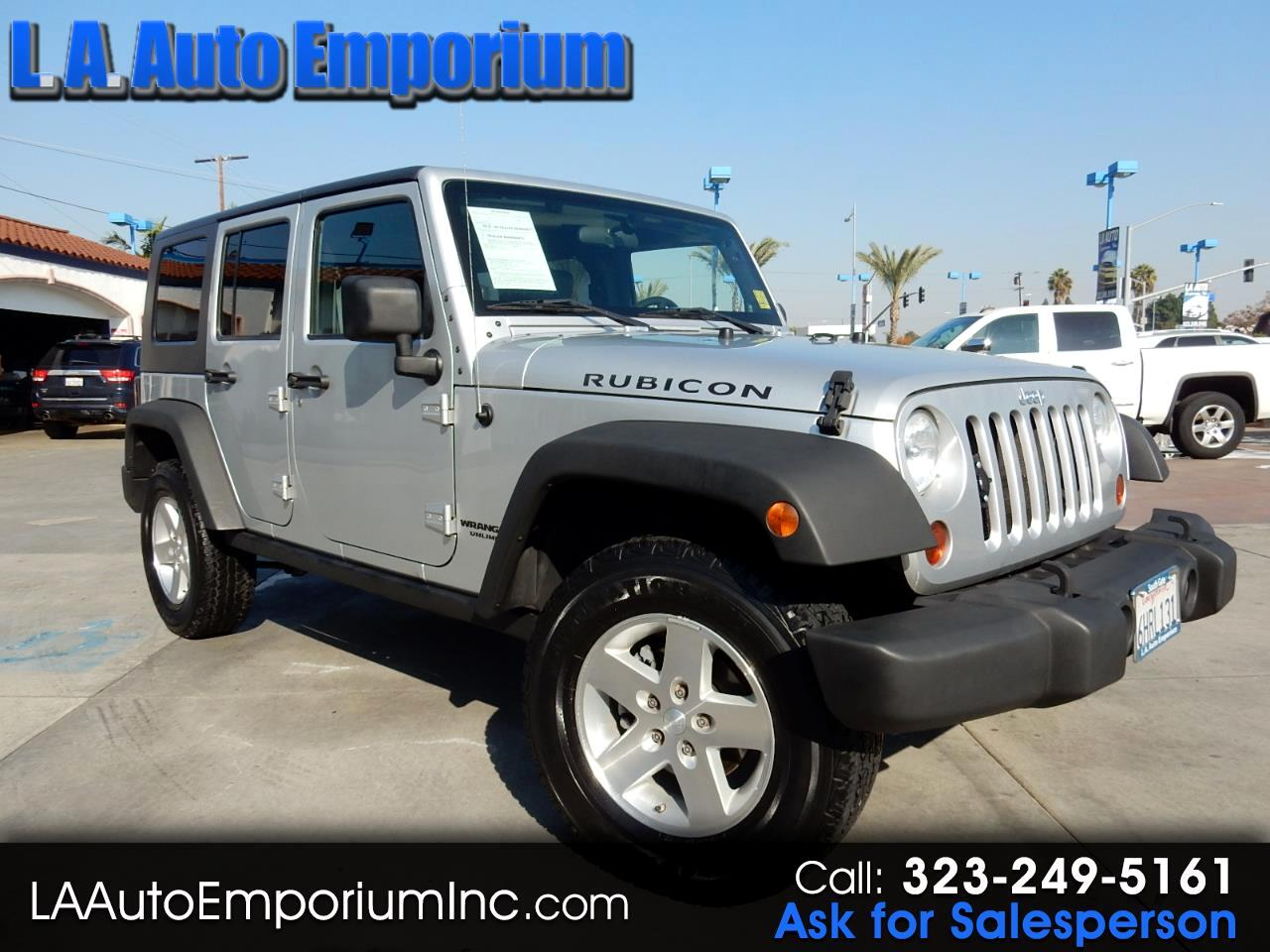 Jeep Wrangler Unlimited 4WD 4dr Rubicon 2009