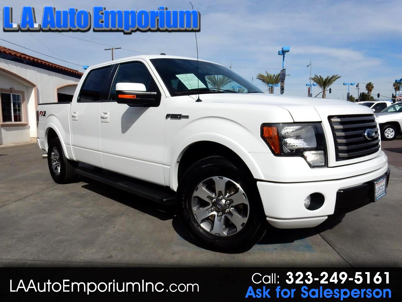 """Ford F-150 2WD SuperCrew 145"""" FX2 2012"""