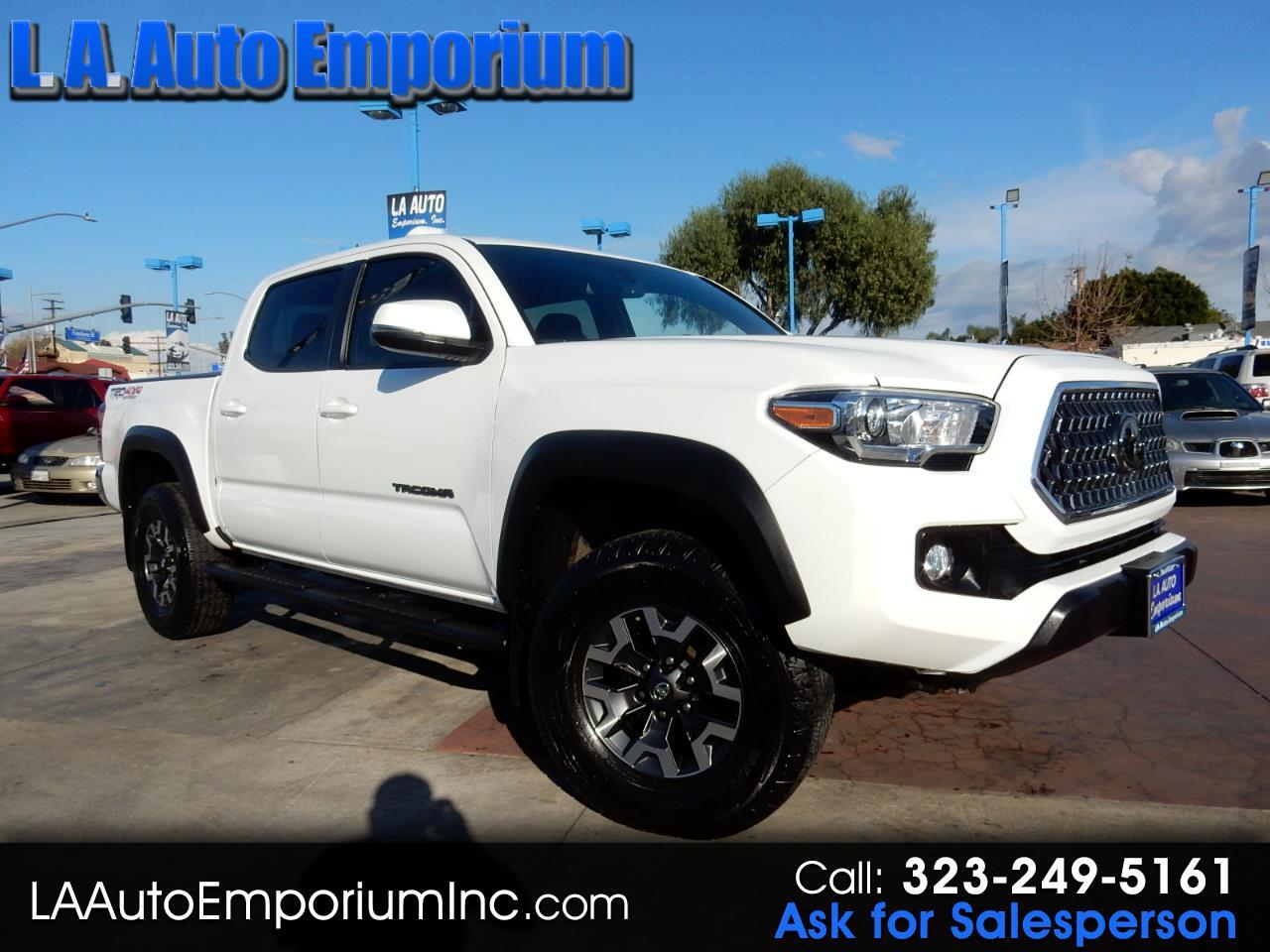 Toyota Tacoma TRD Off Road Double Cab 5' Bed V6 4x4 AT (Natl) 2018