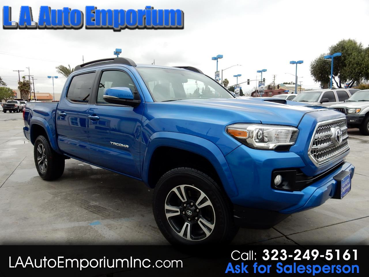 Toyota Tacoma TRD Off Road Double Cab 5' Bed V6 4x4 AT (Natl) 2017