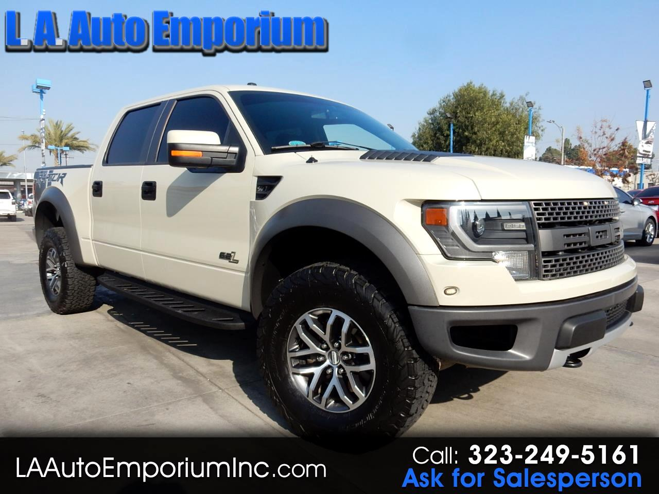 "Ford F-150 4WD SuperCrew 145"" SVT Raptor 2013"