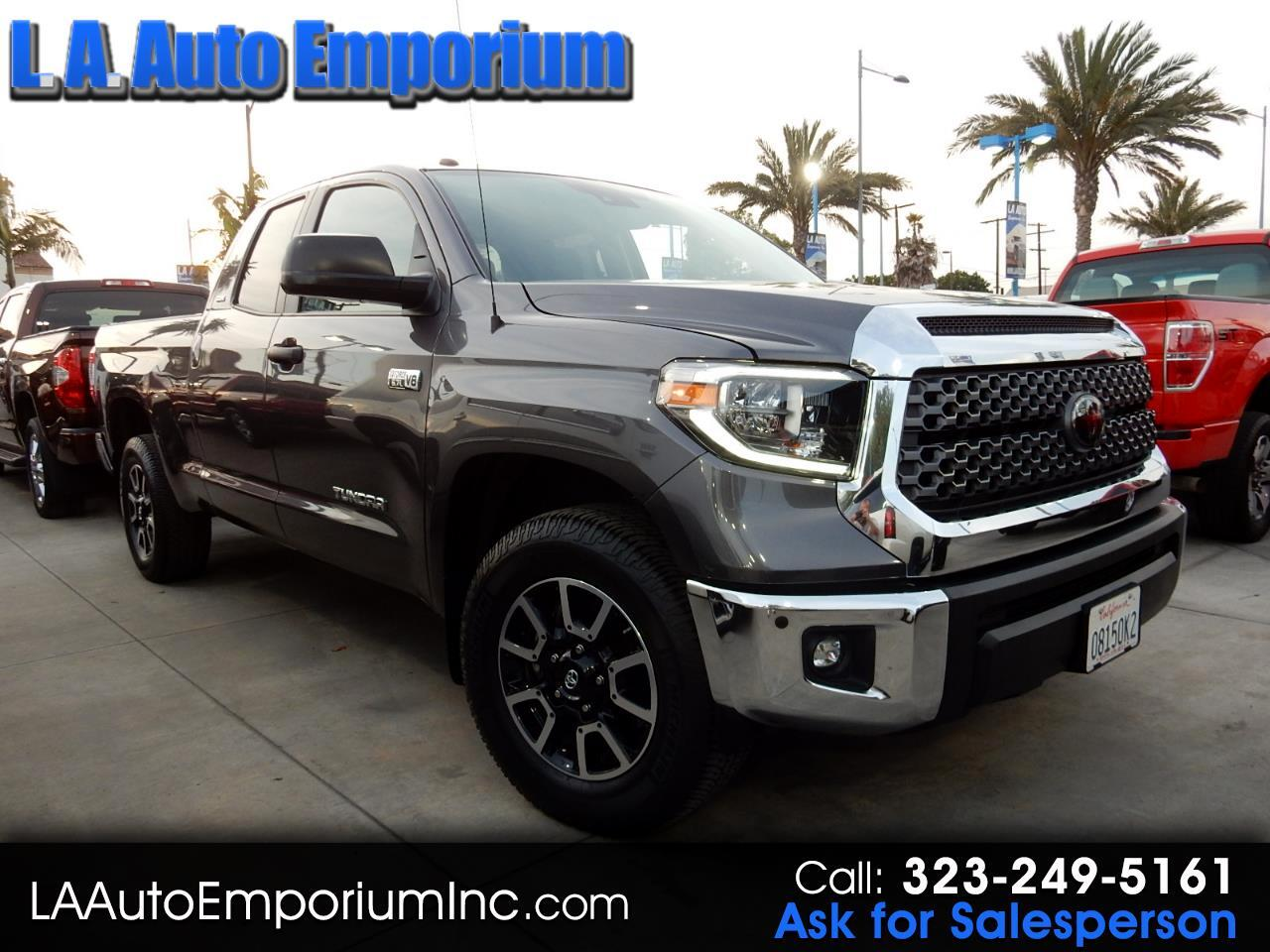 Toyota Tundra 2WD SR5 Double Cab 6.5' Bed 5.7L (Natl) 2018