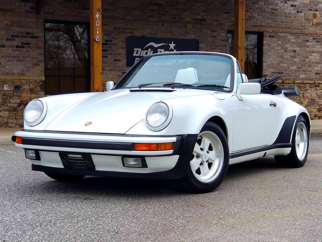 1988 Porsche 911 Carrera Cabriolet M491 Turbo Look