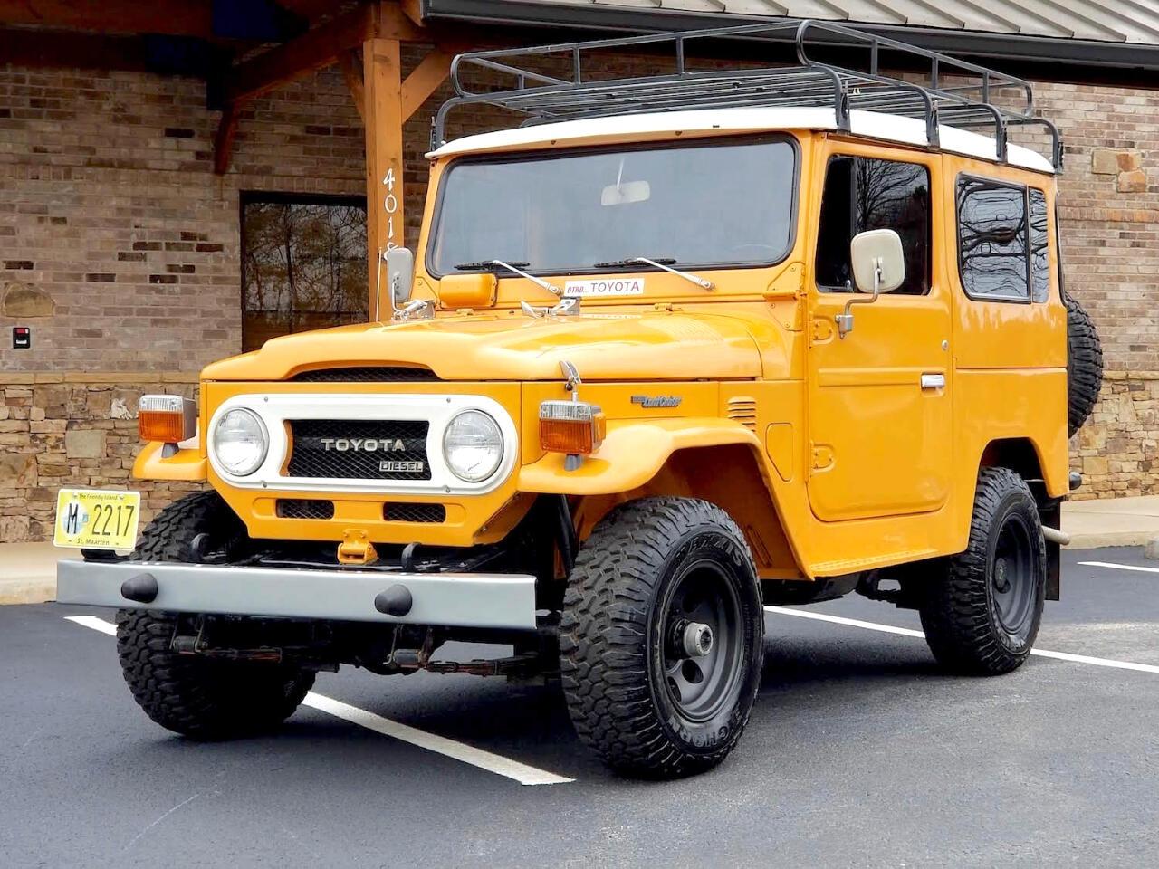 1978 Toyota Land Cruiser BJ40