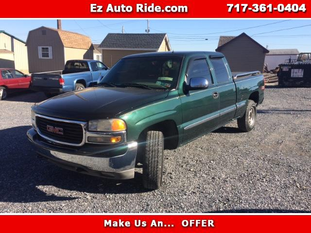2002 GMC Sierra 1500 SL Long Bed 4WD