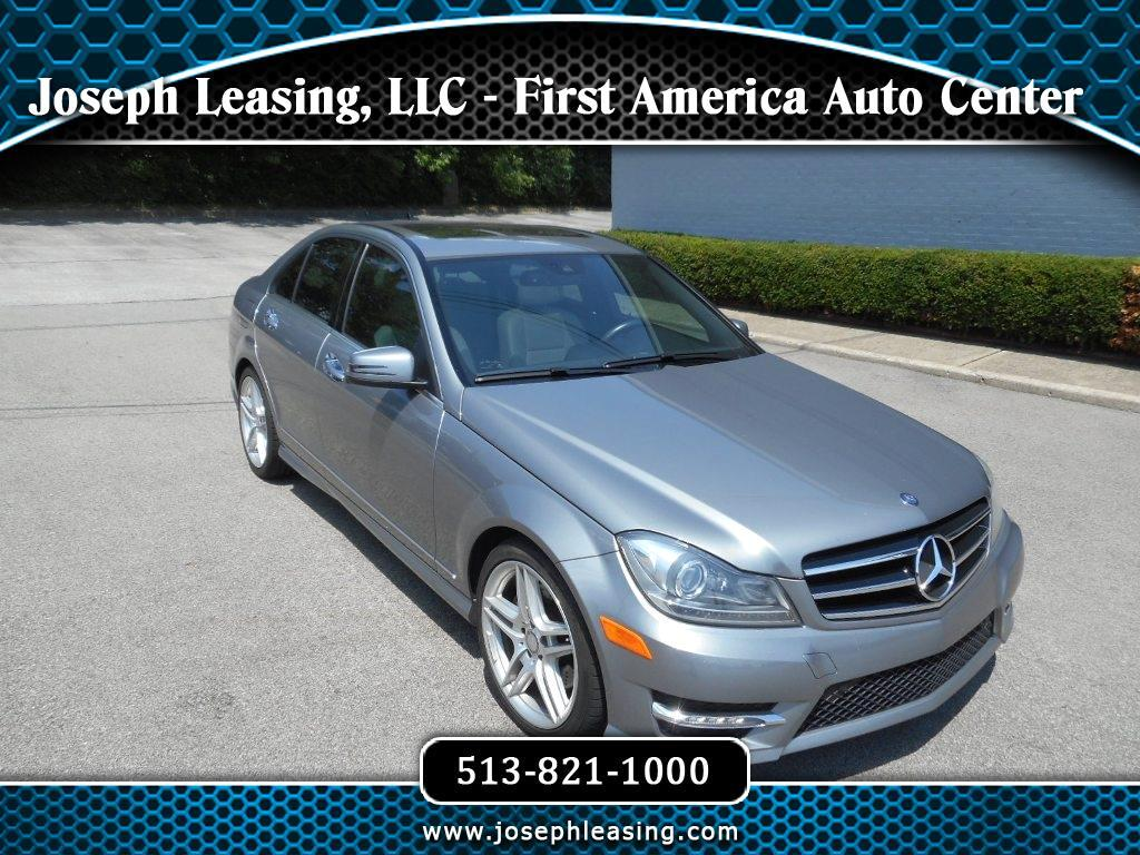 2014 Mercedes-Benz C-Class C300 4MATIC Sport Sedan