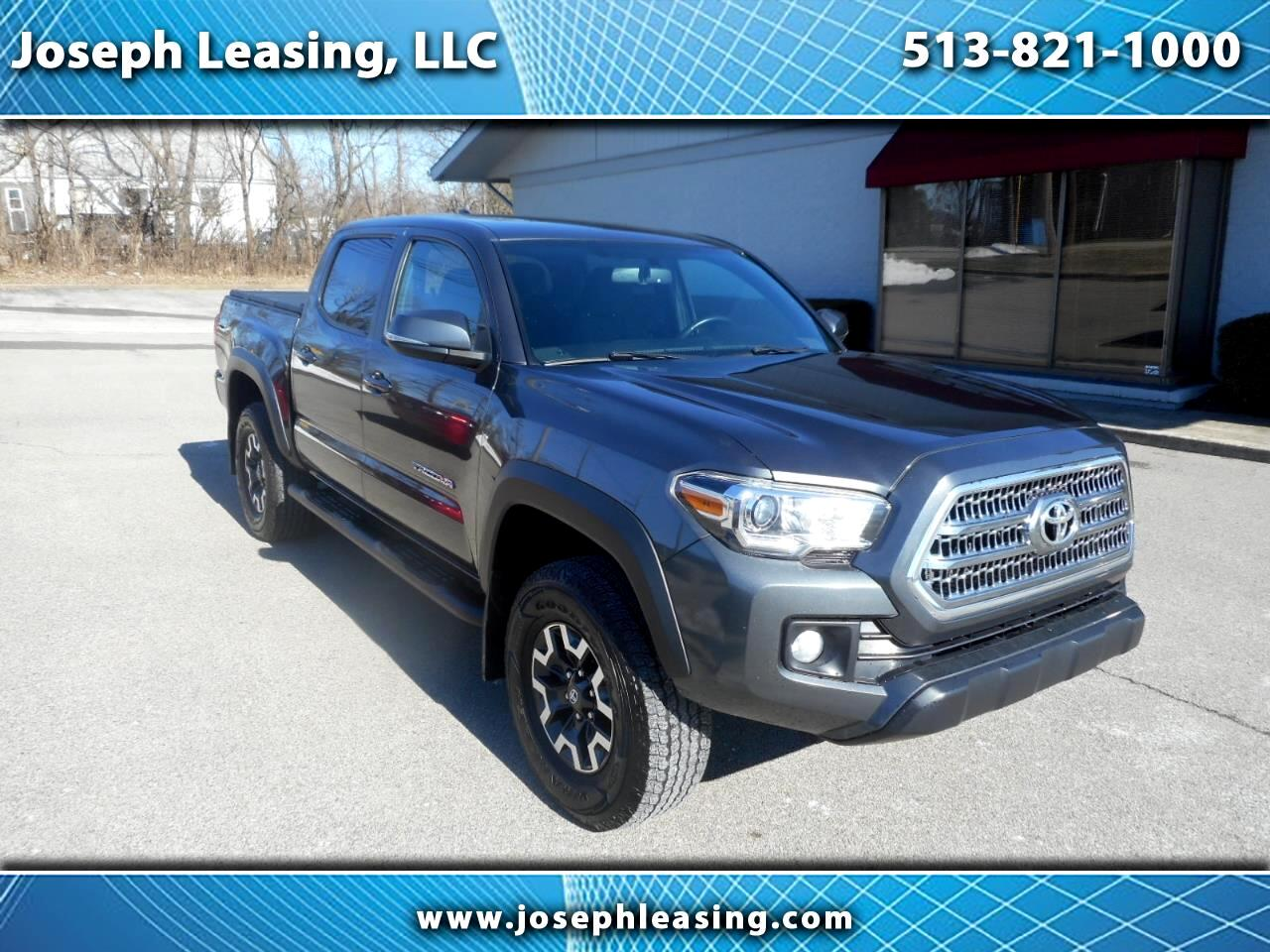 2016 Toyota Tacoma 4WD Double Cab TRD Off-Road
