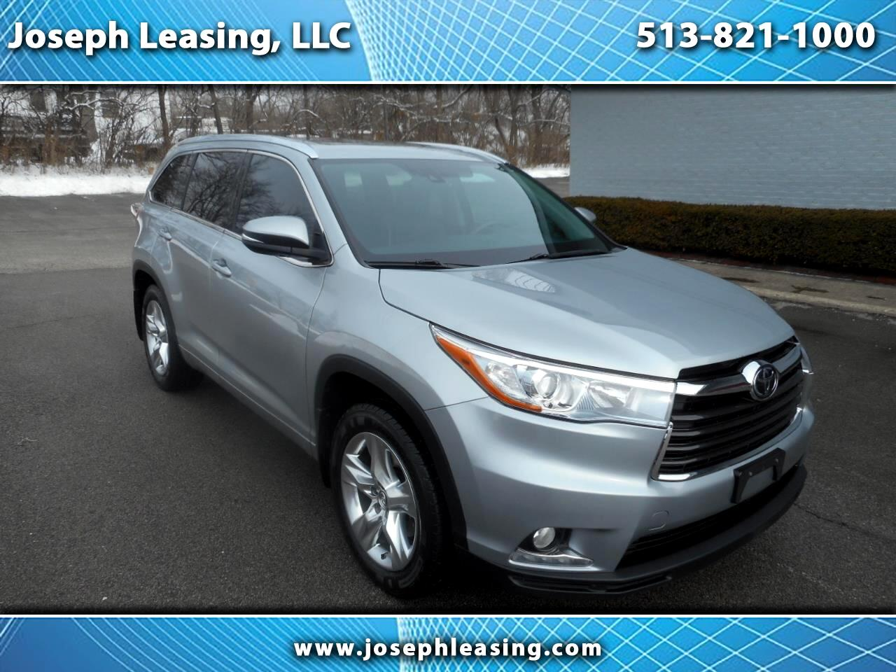 2016 Toyota Highlander AWD Limited Platinum