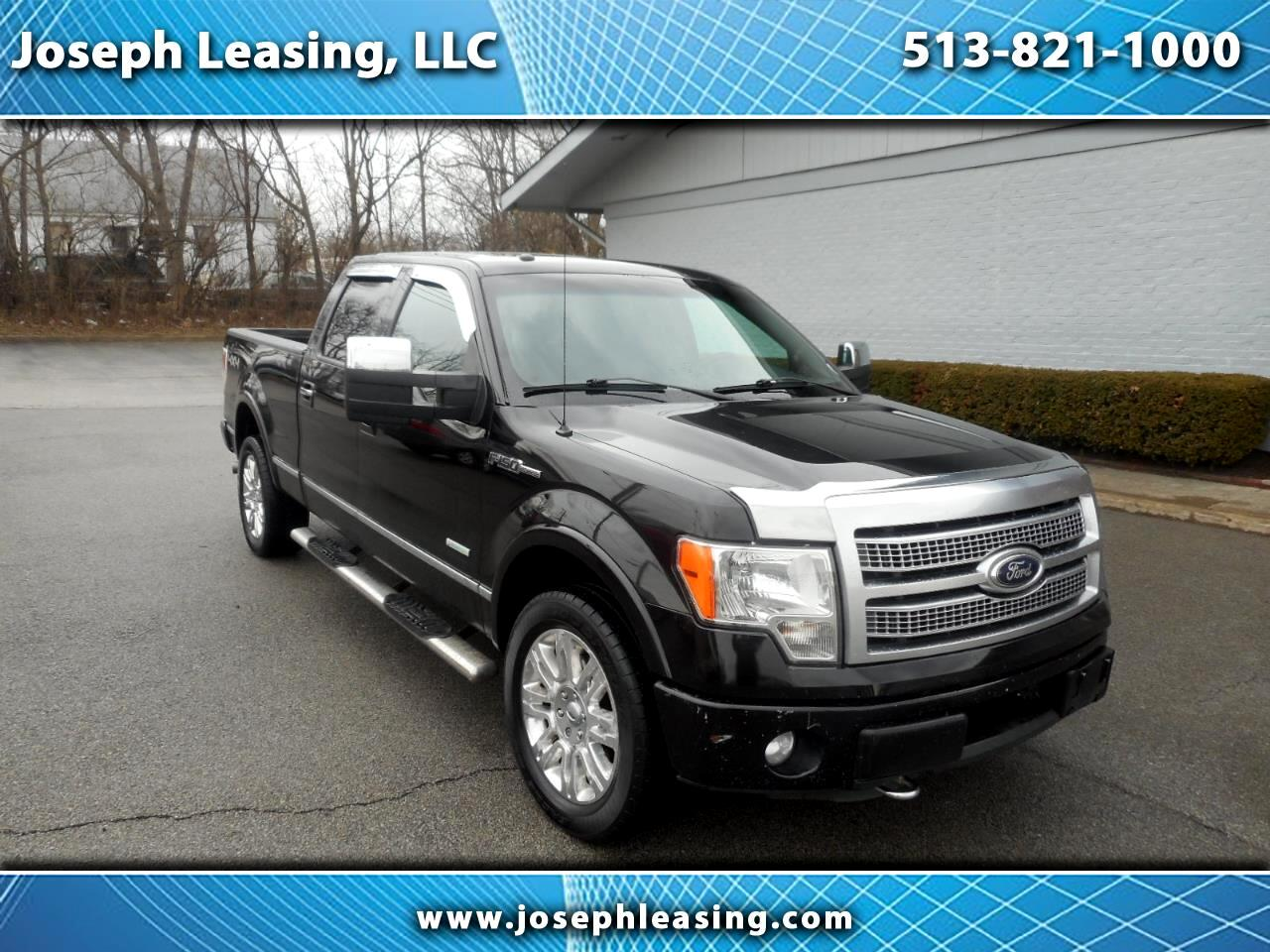 2012 Ford F-150 4WD SuperCrew Platinum
