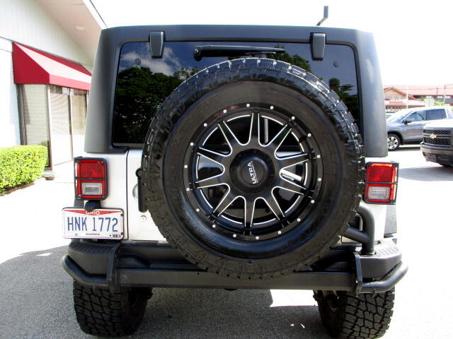 2012 Jeep Wrangler JK Unlimited RUBICON CALL OF DUTY MW3