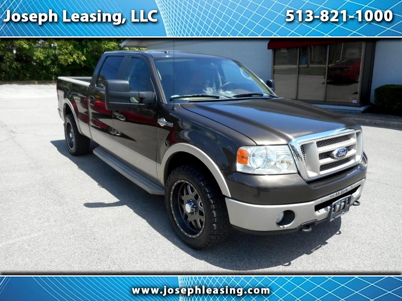 2008 Ford F-150 4WD SuperCrew King Ranch
