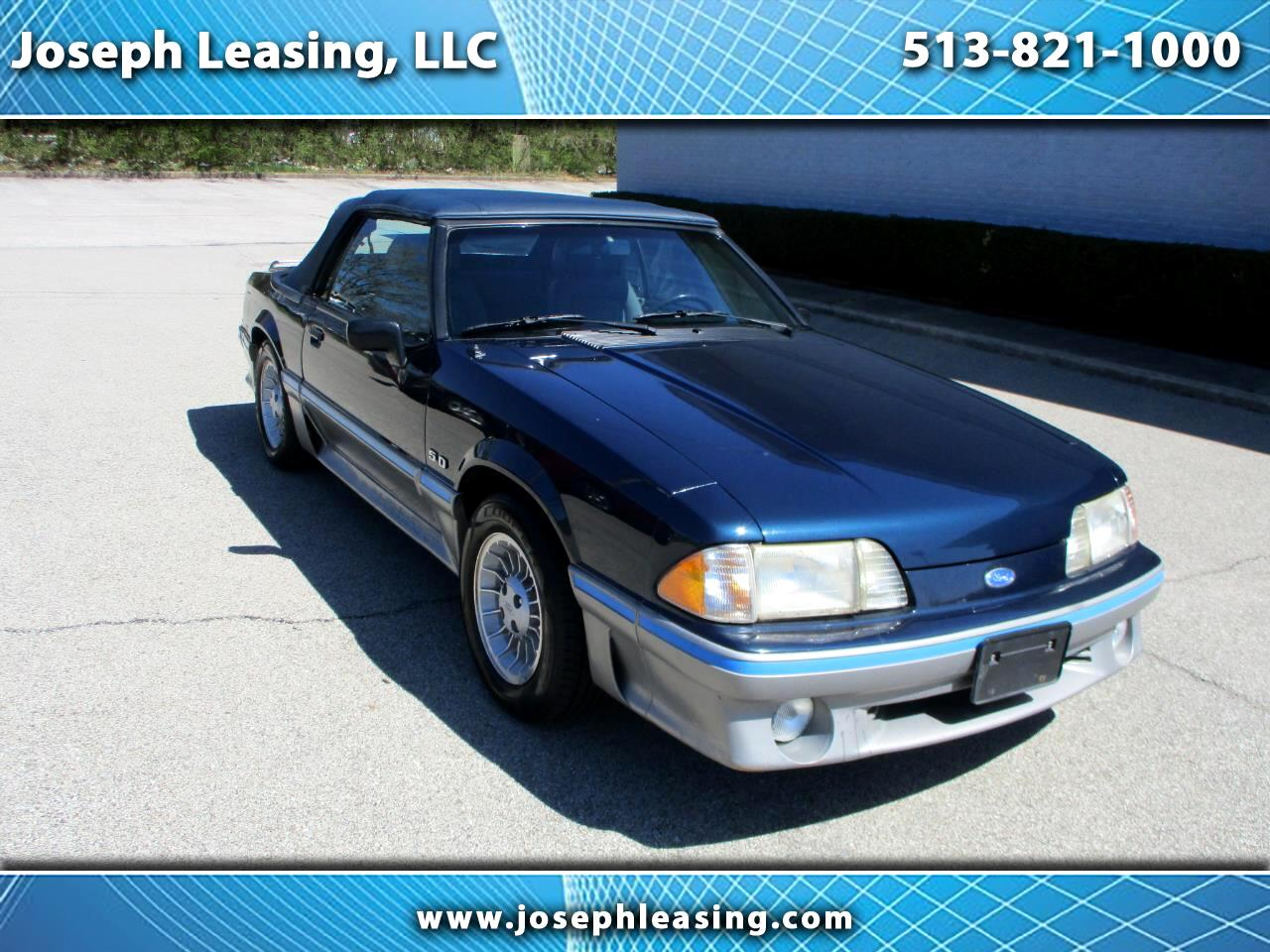Ford Mustang 2dr Convertible GT 1988