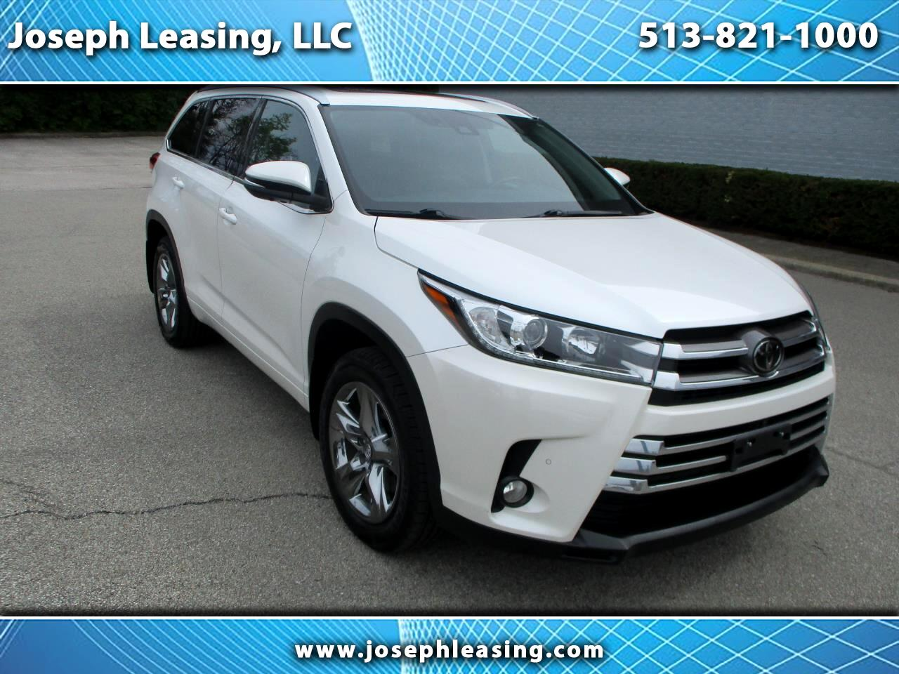 Toyota Highlander Limited Platinum AWD V6 2017