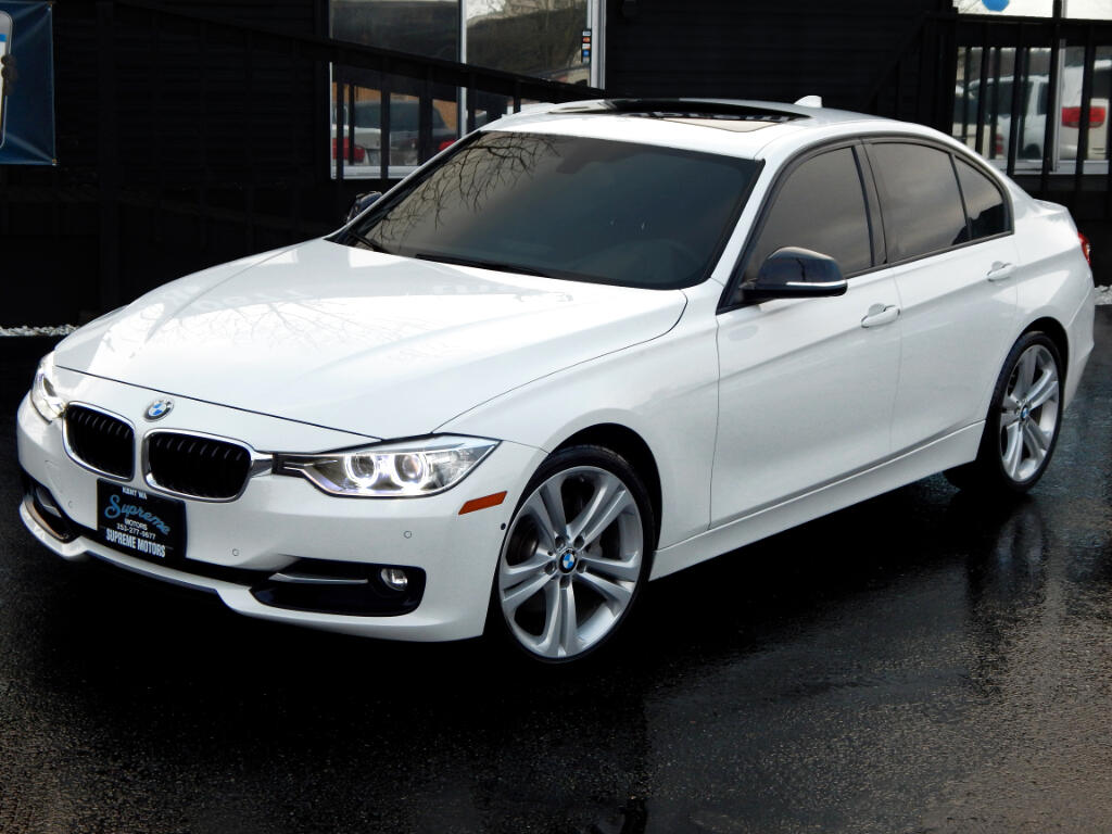 2013 BMW 3-Series 335i Sport Package Sedan