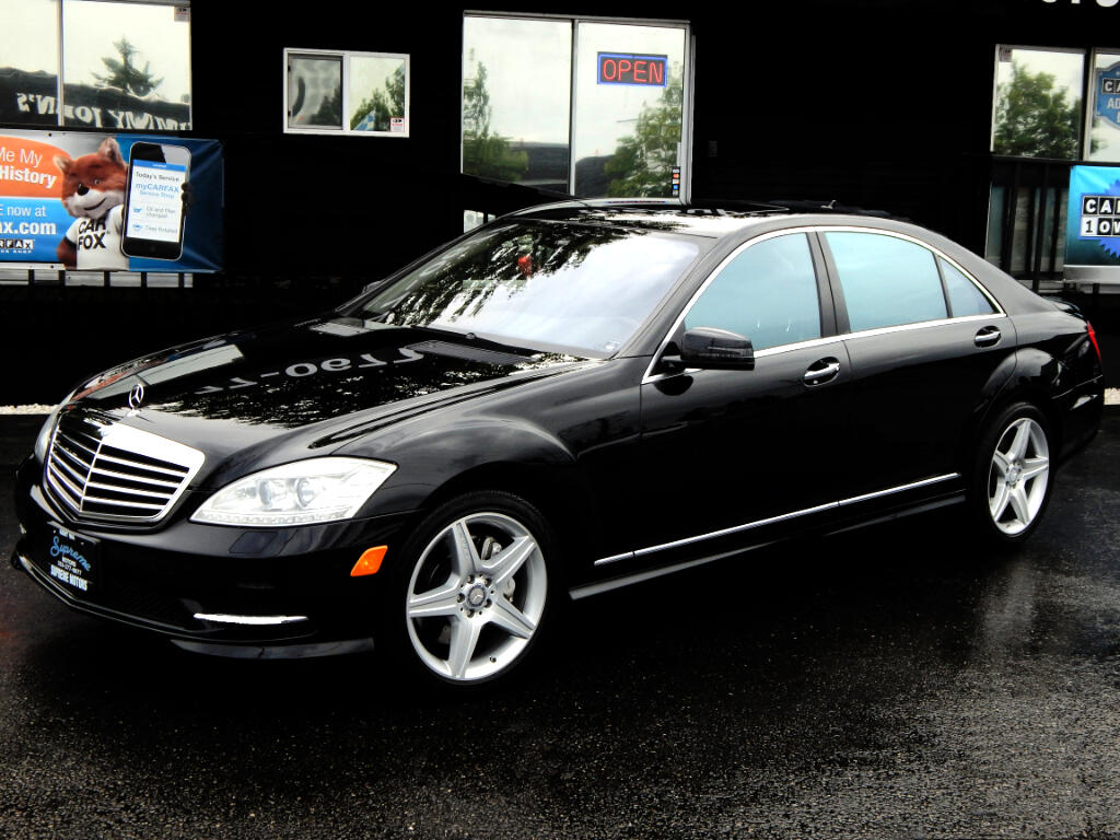 2011 Mercedes-Benz S-Class S550 AMG Package
