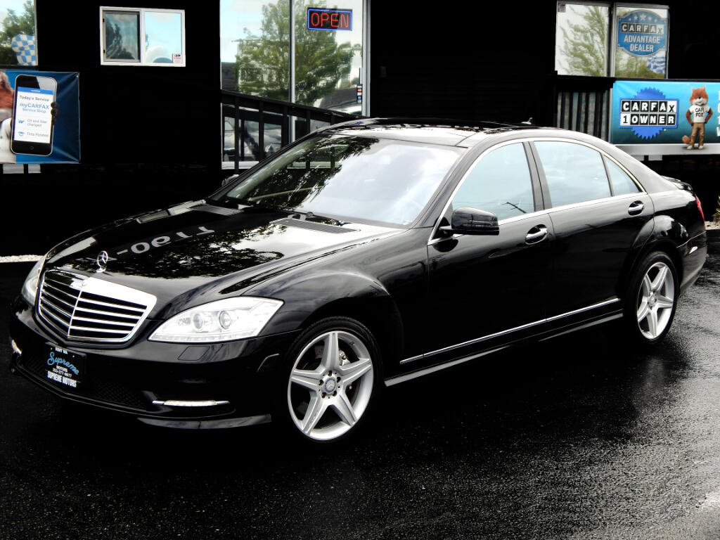 2010 Mercedes-Benz S-Class S550 AMG Package