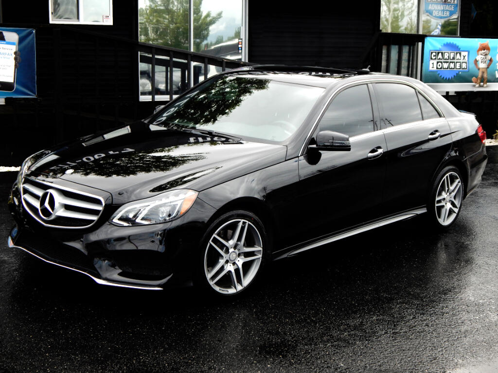 2016 Mercedes-Benz E-Class E350 AMG Sport Package