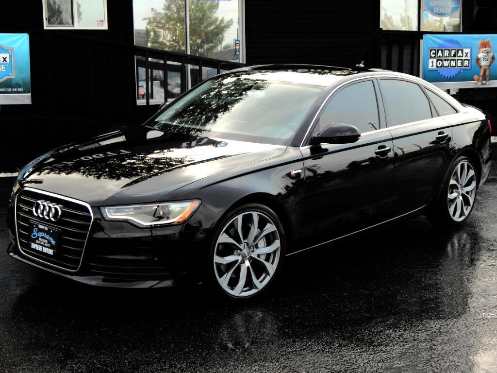 2014 Audi A6 3.0T quattro Tiptronic