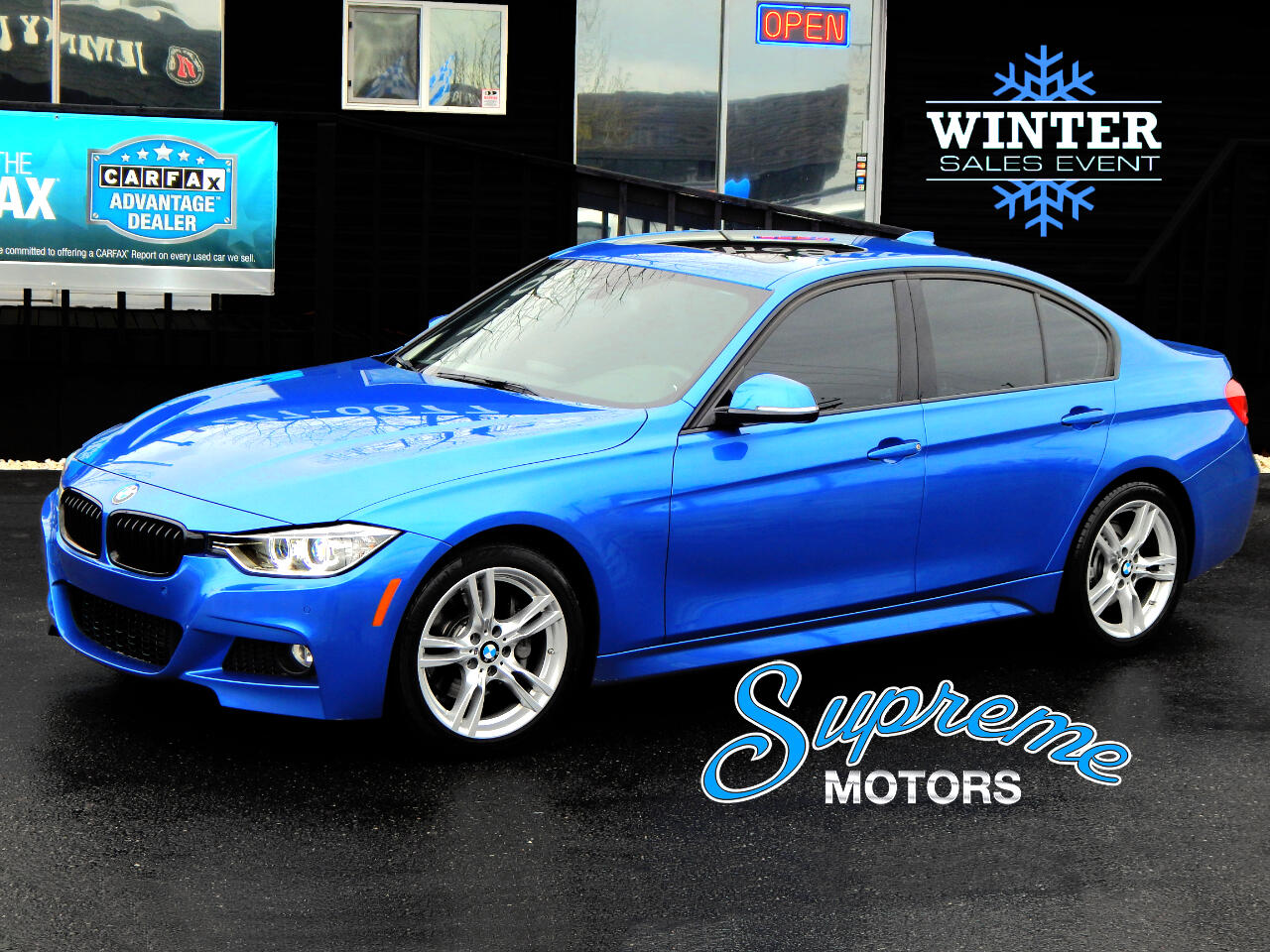 2015 BMW 3-Series M-Sport 335i Sedan