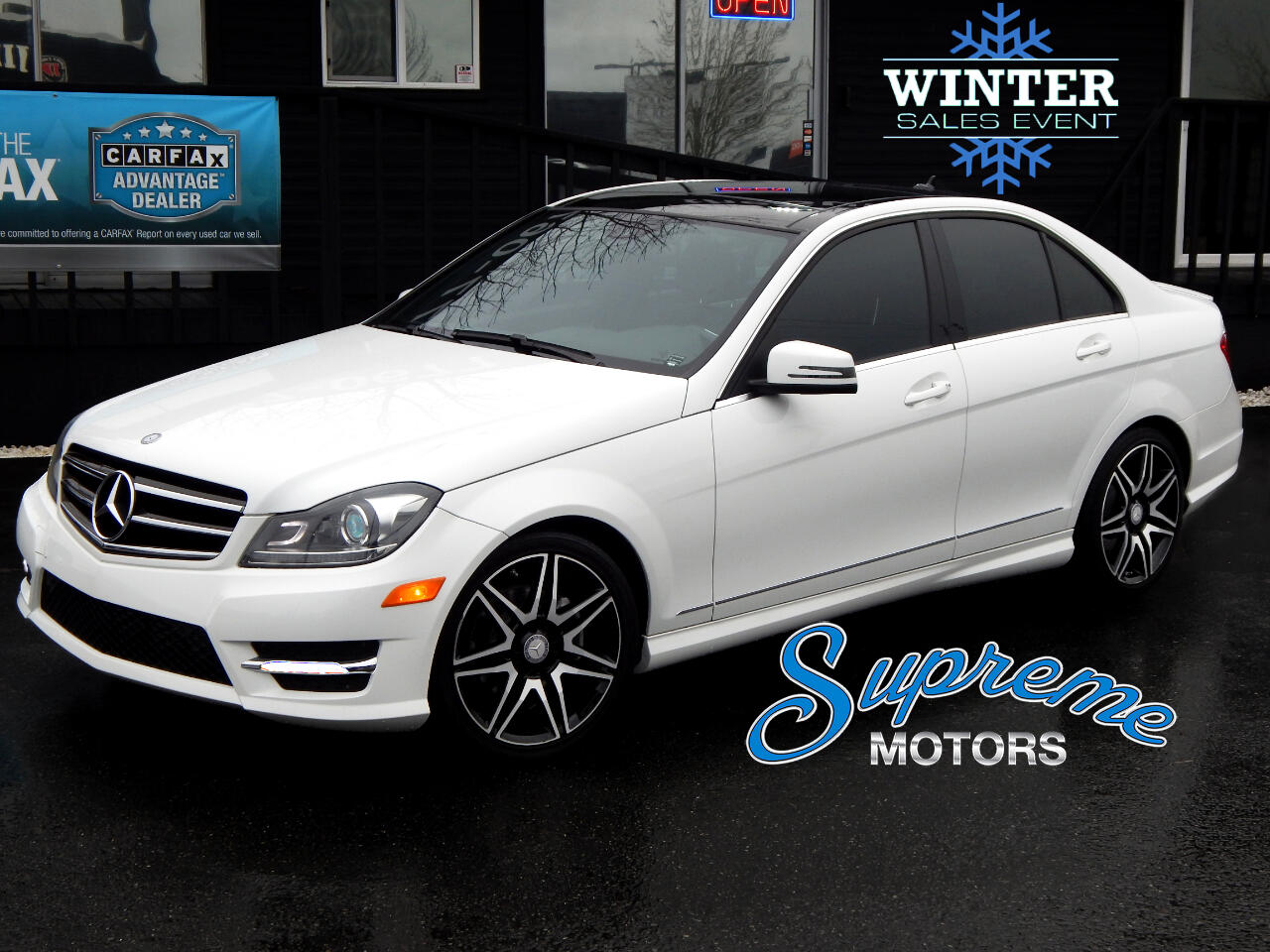 2014 Mercedes-Benz C-Class C250 Sport Package