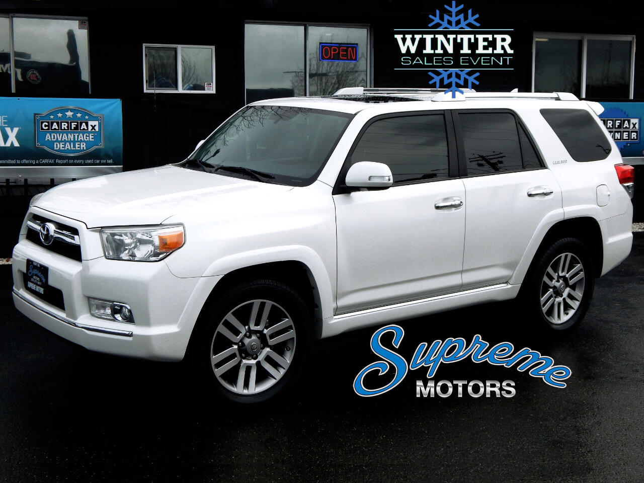 2013 Toyota 4Runner Limited 4wd V6 w/3rd Row Seat