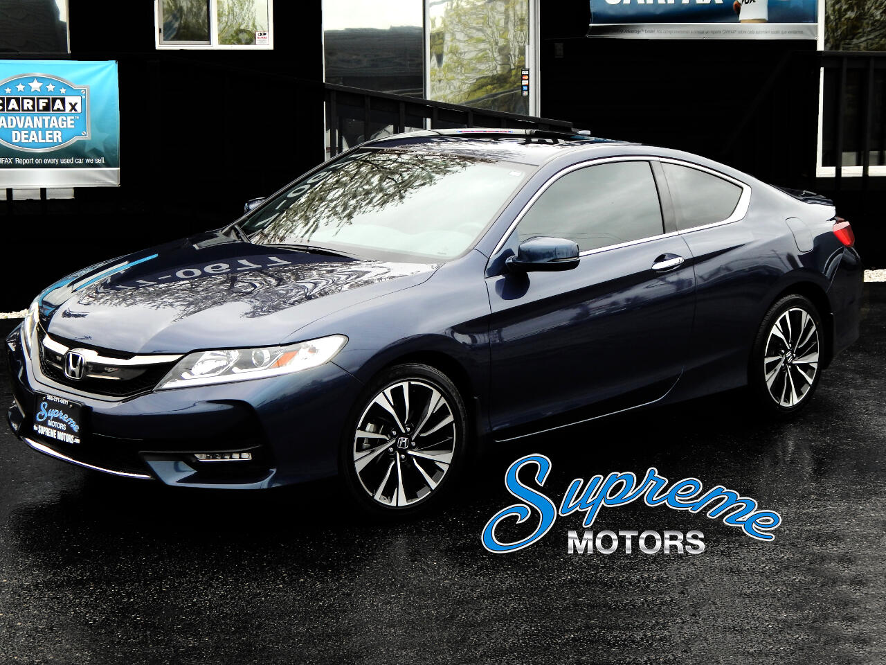 2016 Honda Accord Sport EX-L Coupe w/Backup Camera, Leather, and MOR