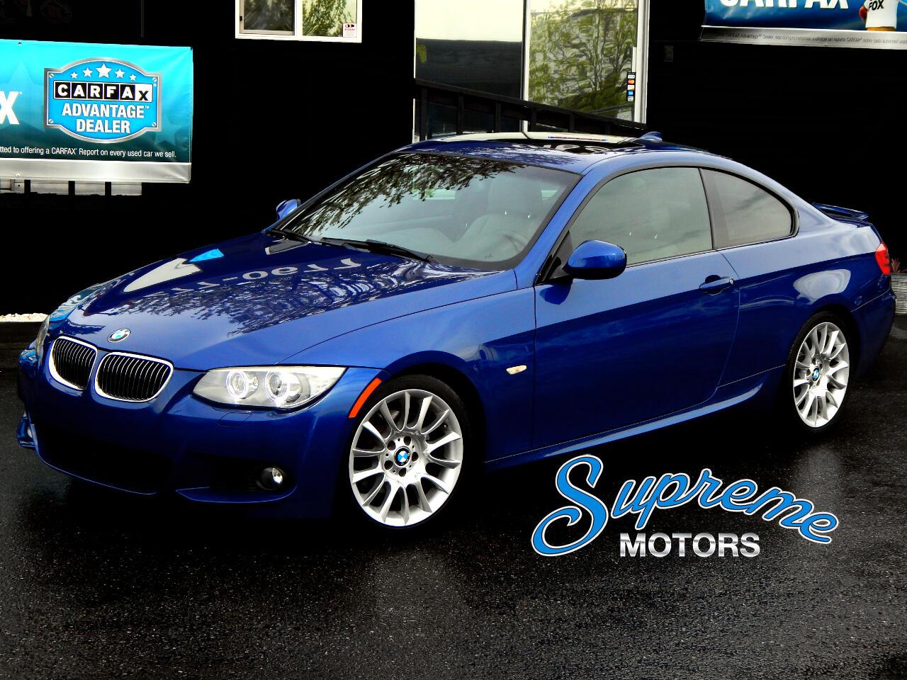 2013 BMW 3-Series M-Sport Coupe w/Tech Pkg
