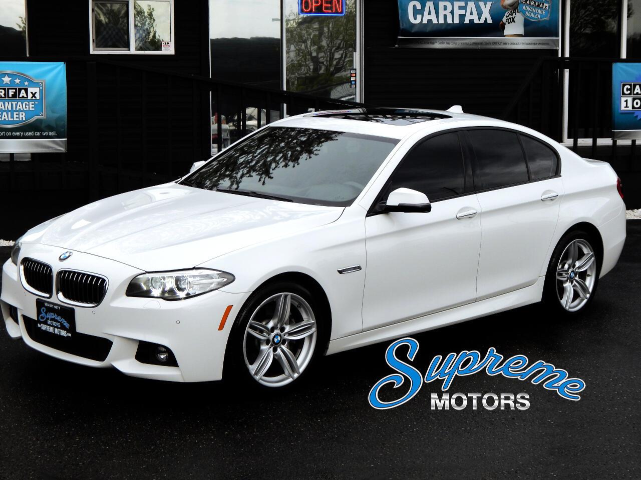 2016 BMW 5-Series 535i M-Sport