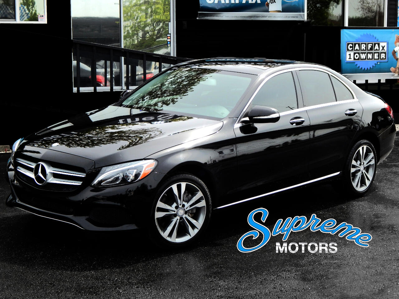 2015 Mercedes-Benz C-Class C300 4Matic AWD w/RARE Headlight Pkg and Panoramic
