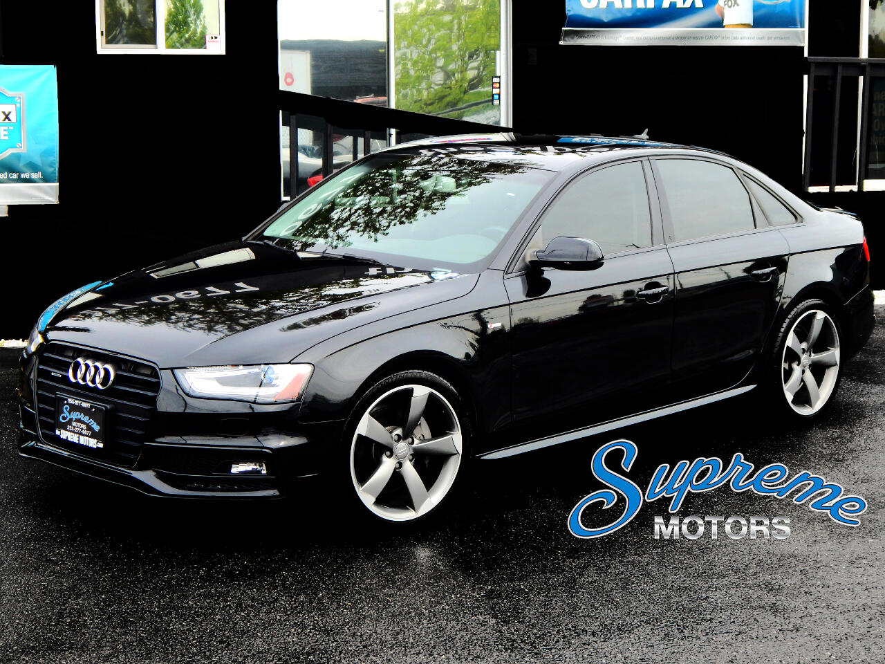 2014 Audi A4 S-Line with RARE S4 Seat Package