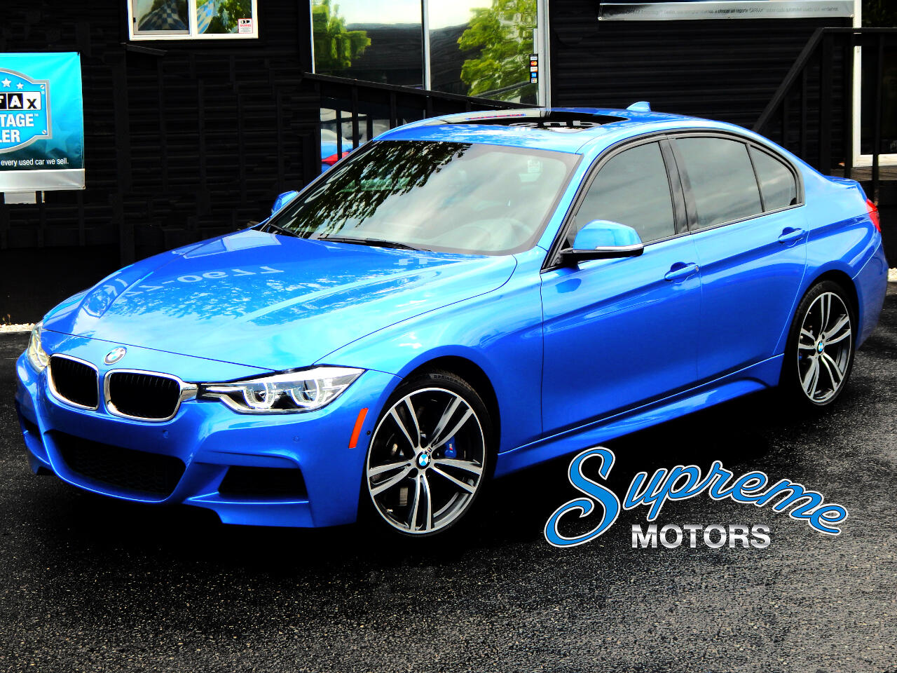 2016 BMW 3-Series SPECIAL ORDER 340i M-Sport 6 Speed