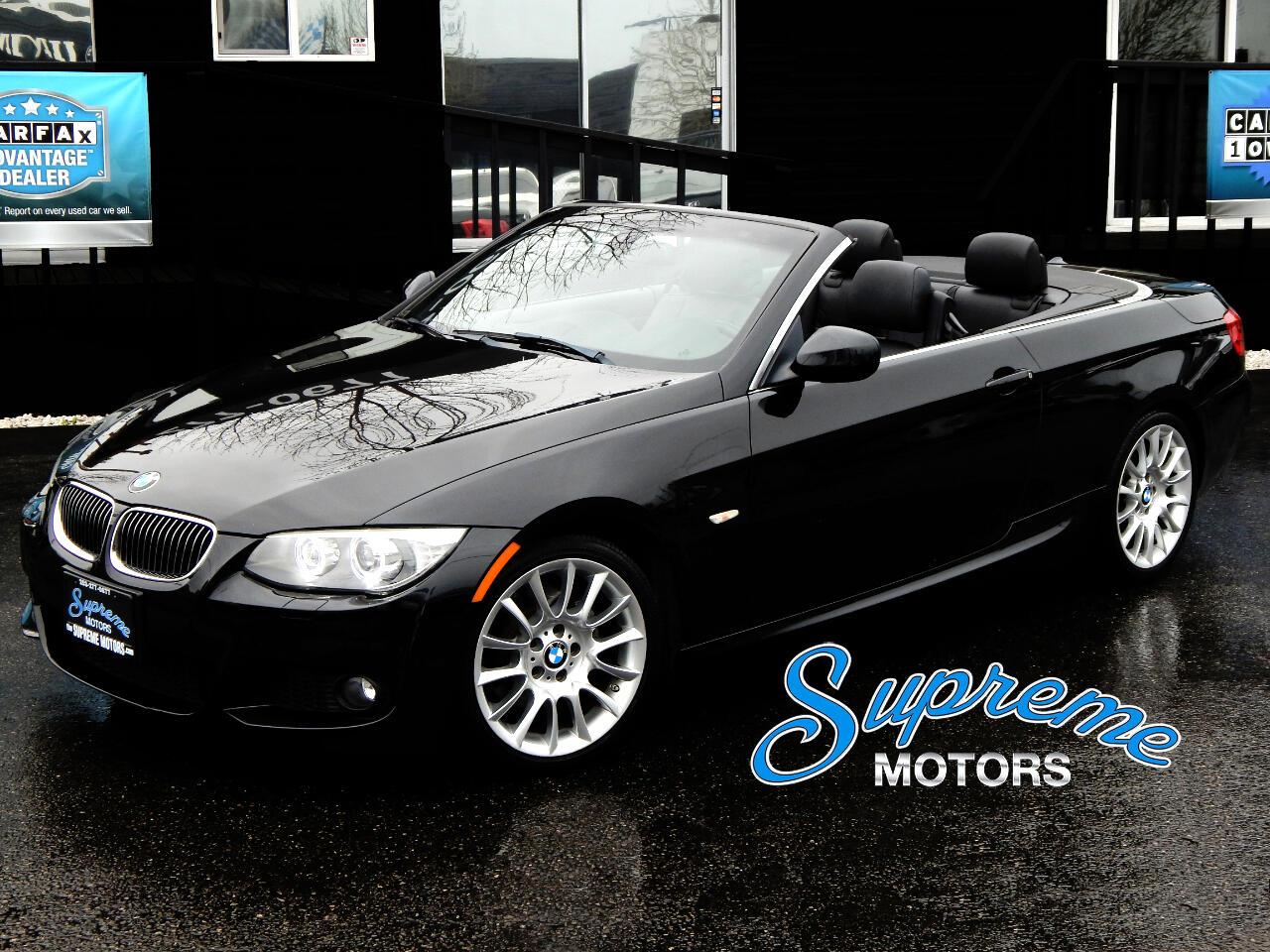2012 BMW 3-Series 3-Series M-Sport Convertible