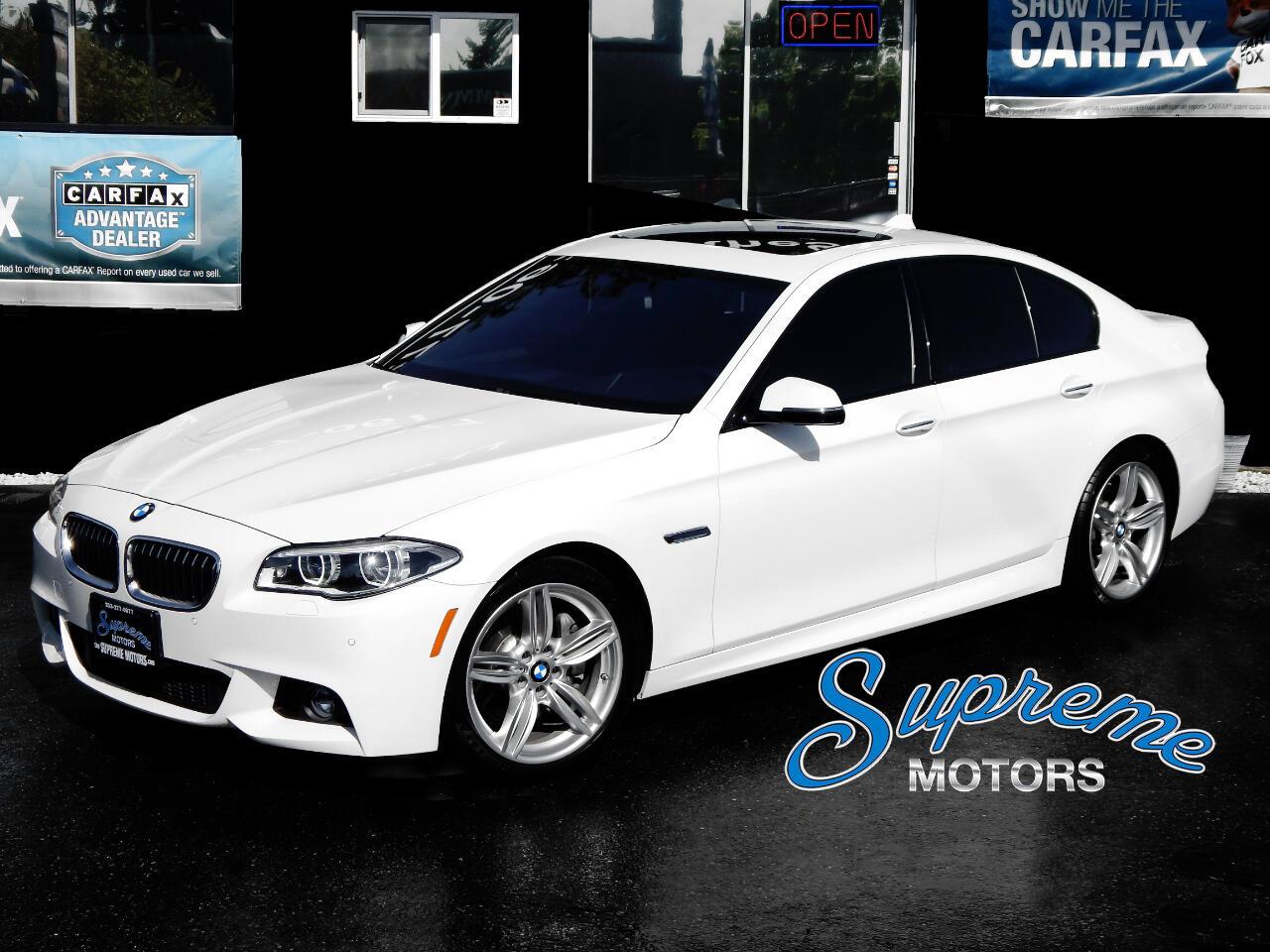 2014 BMW 5-Series M-Sport 535d w/HUD and Premium Seats