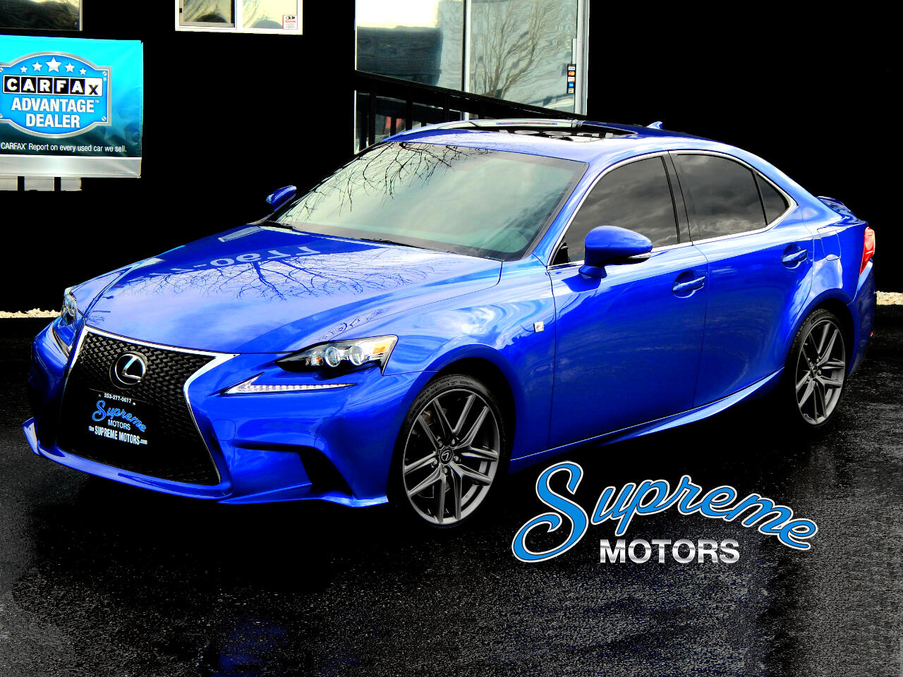 2016 Lexus IS F-Sport, Heated/AC Seats, One Owner, Clean Carfax,
