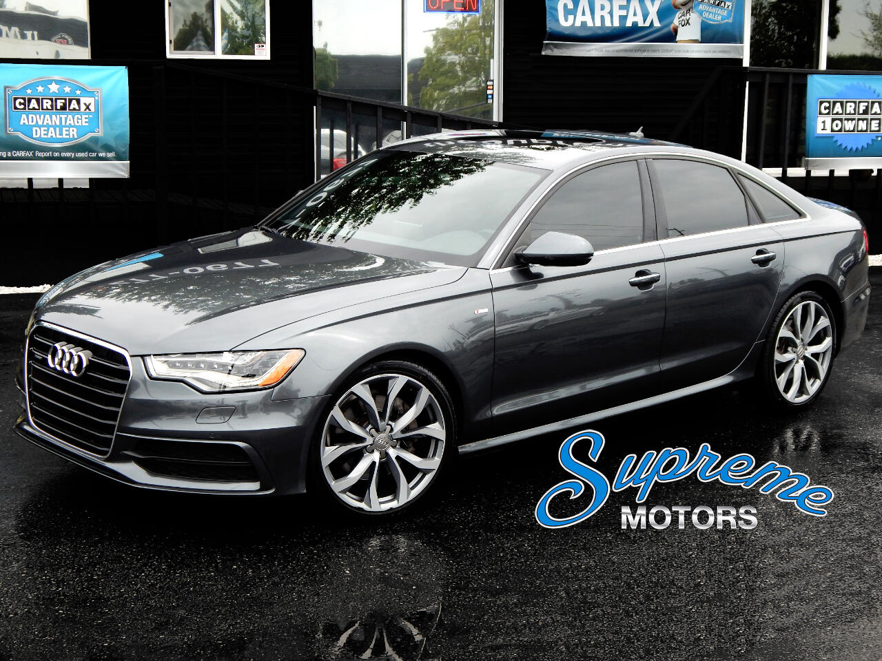 2015 Audi A6 S-Line Package TDI w/Headlight Package + MORE