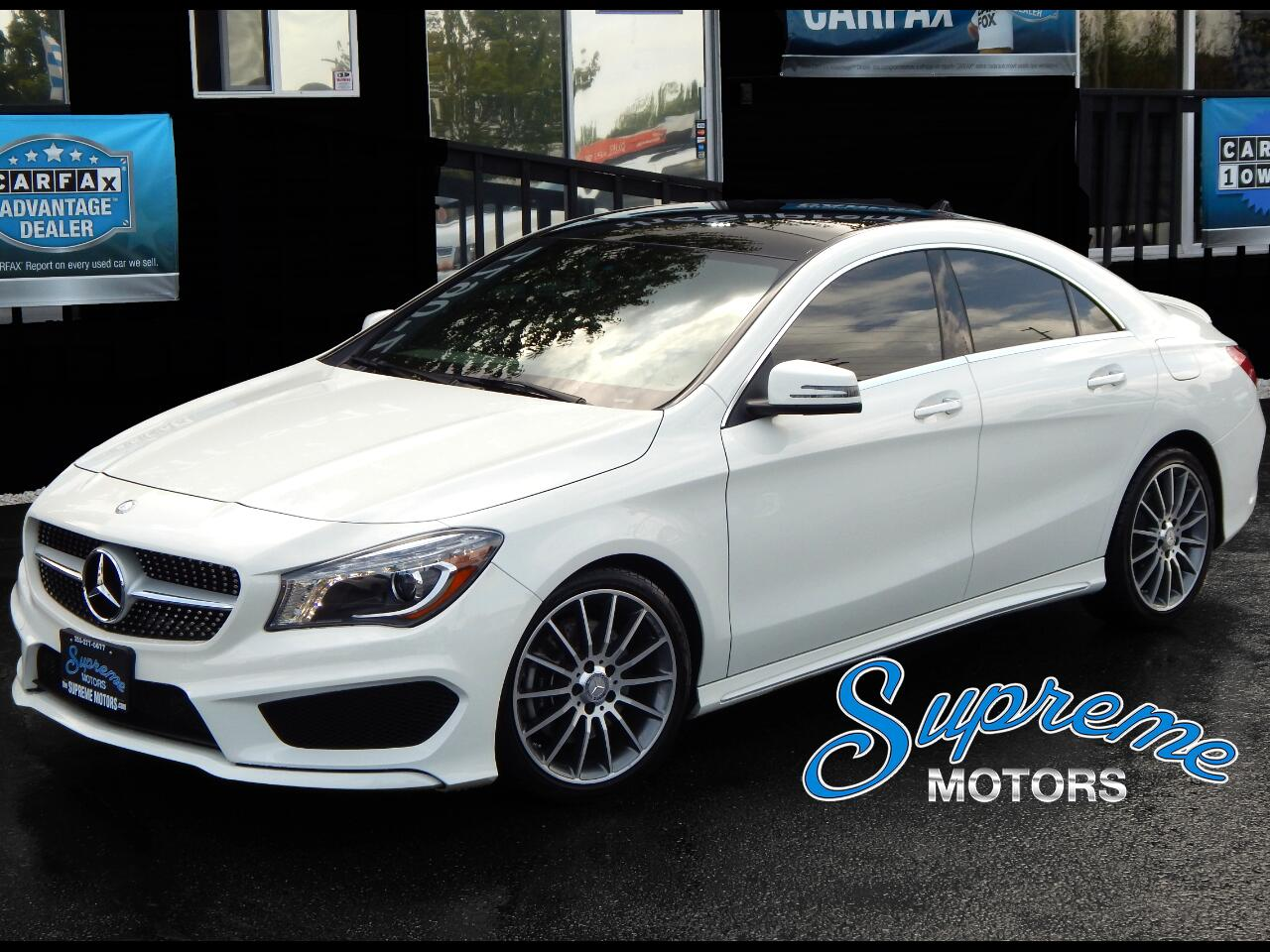 2016 Mercedes-Benz CLA-Class CLA250 AMG Sport Package, Panoramic Roof, Navi, He