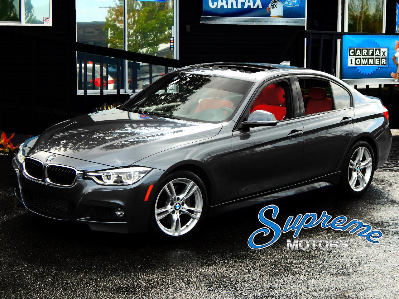 2016 BMW 3-Series M-Sport Pkg, Heads Up Display, Heated Seats, clean