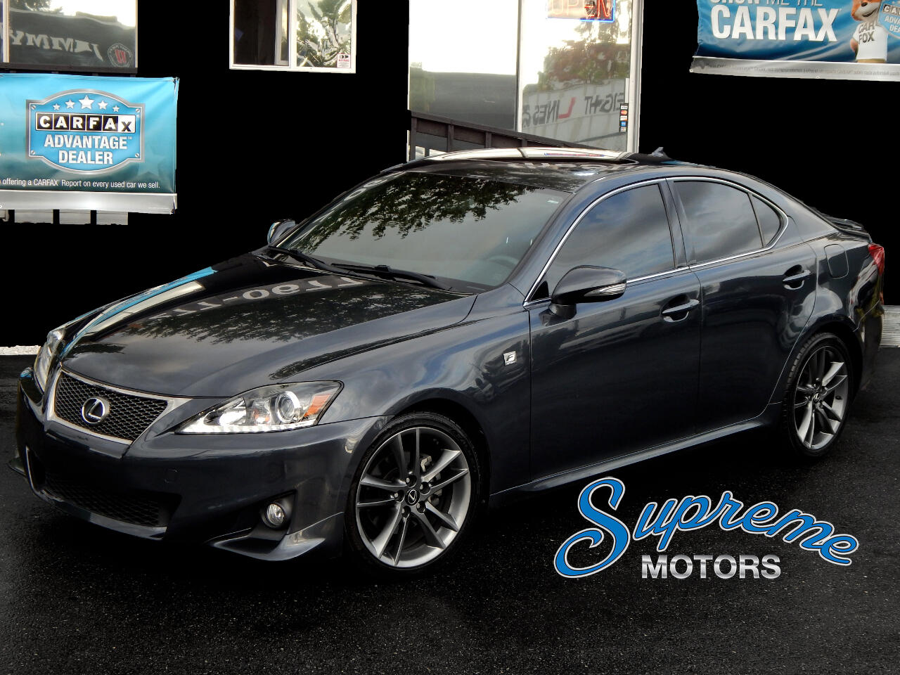 2011 Lexus IS F-Sport Package, CLEAN CARFAX, Suede F Interior, S
