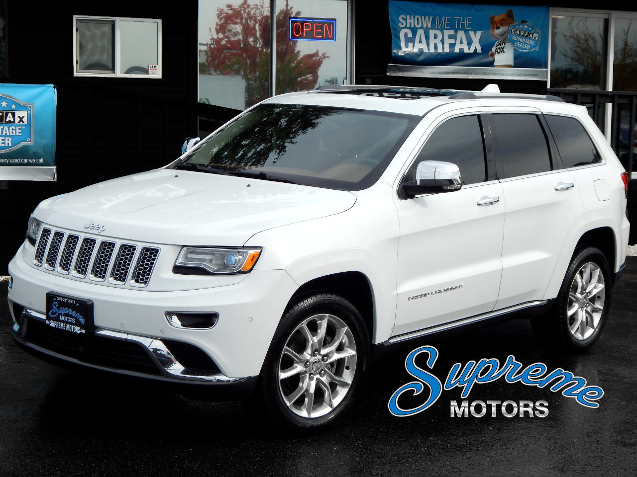2015 Jeep Grand Cherokee Summit Edition, Laser Cruise Control, West Coast C
