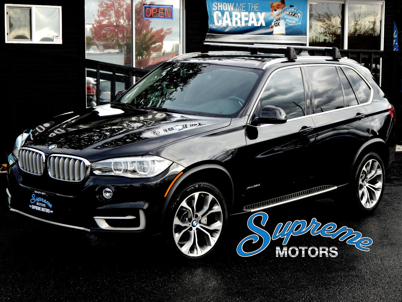 2014 BMW X5 xDrive35d w/3rd Row Seat + LUX PACKAGE