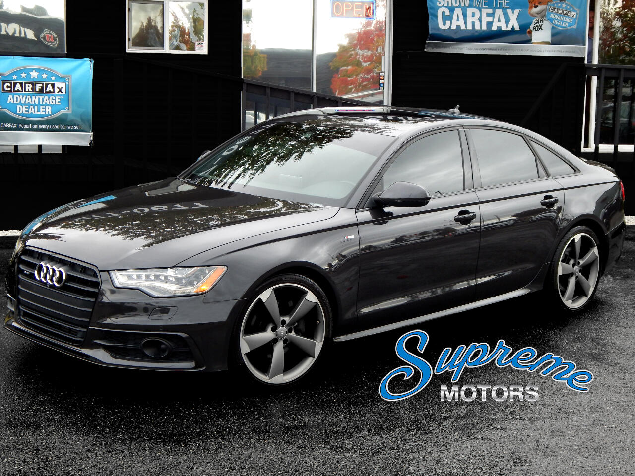 2015 Audi A6 S-LINE TDI Laser Guided Cruise