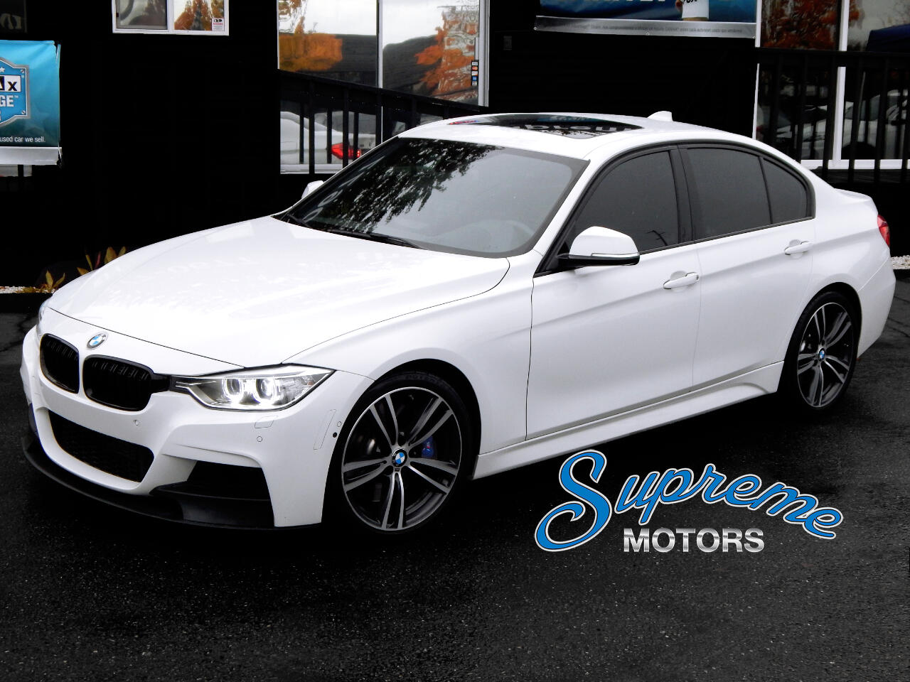 2015 BMW 3-Series 335i M-Sport, M Brake Pkg, HUD Heads Up Display, T