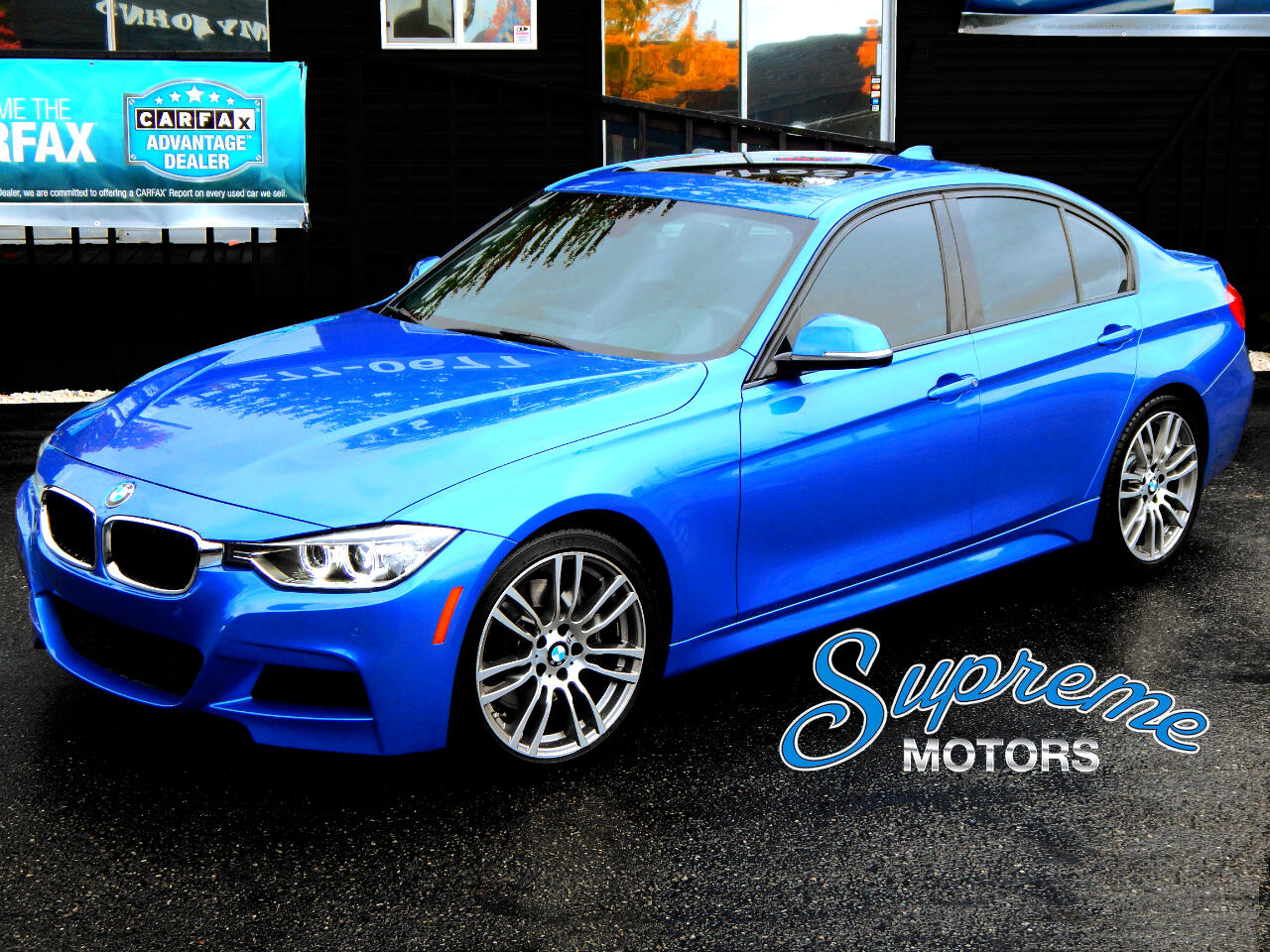 2014 BMW 3-Series 335i M-Sport, Tech Package, HUD Heads Up Display,