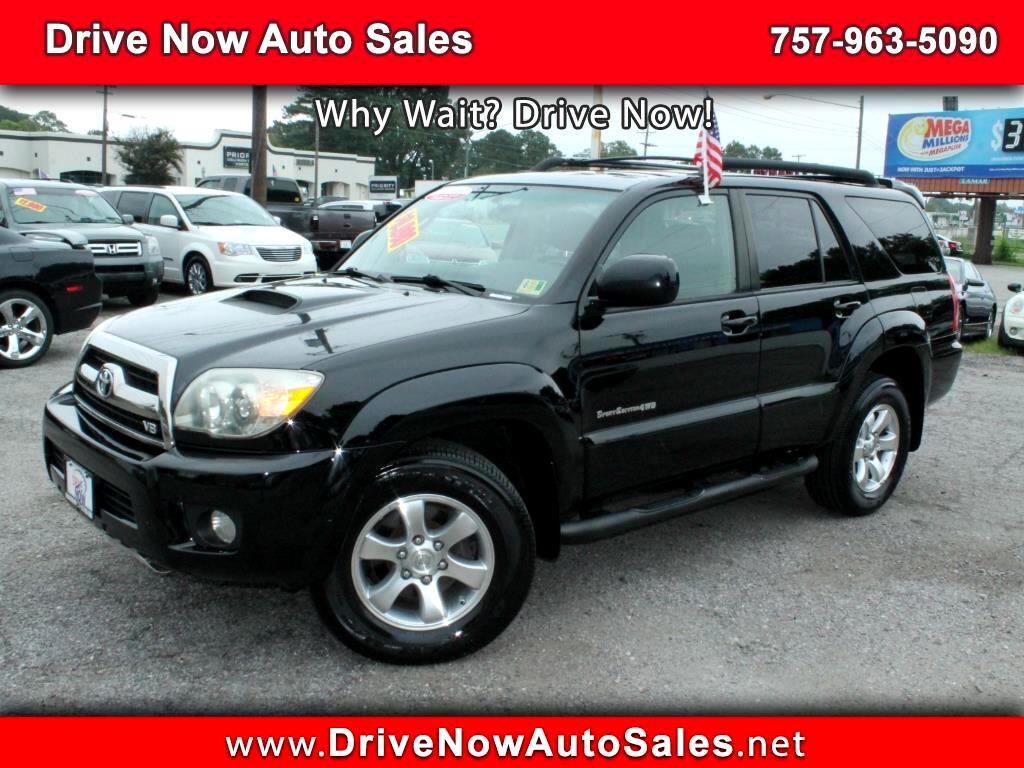 Used 2006 Toyota 4runner Sport Edition V8 4wd For Sale Cargurus 1984 1989