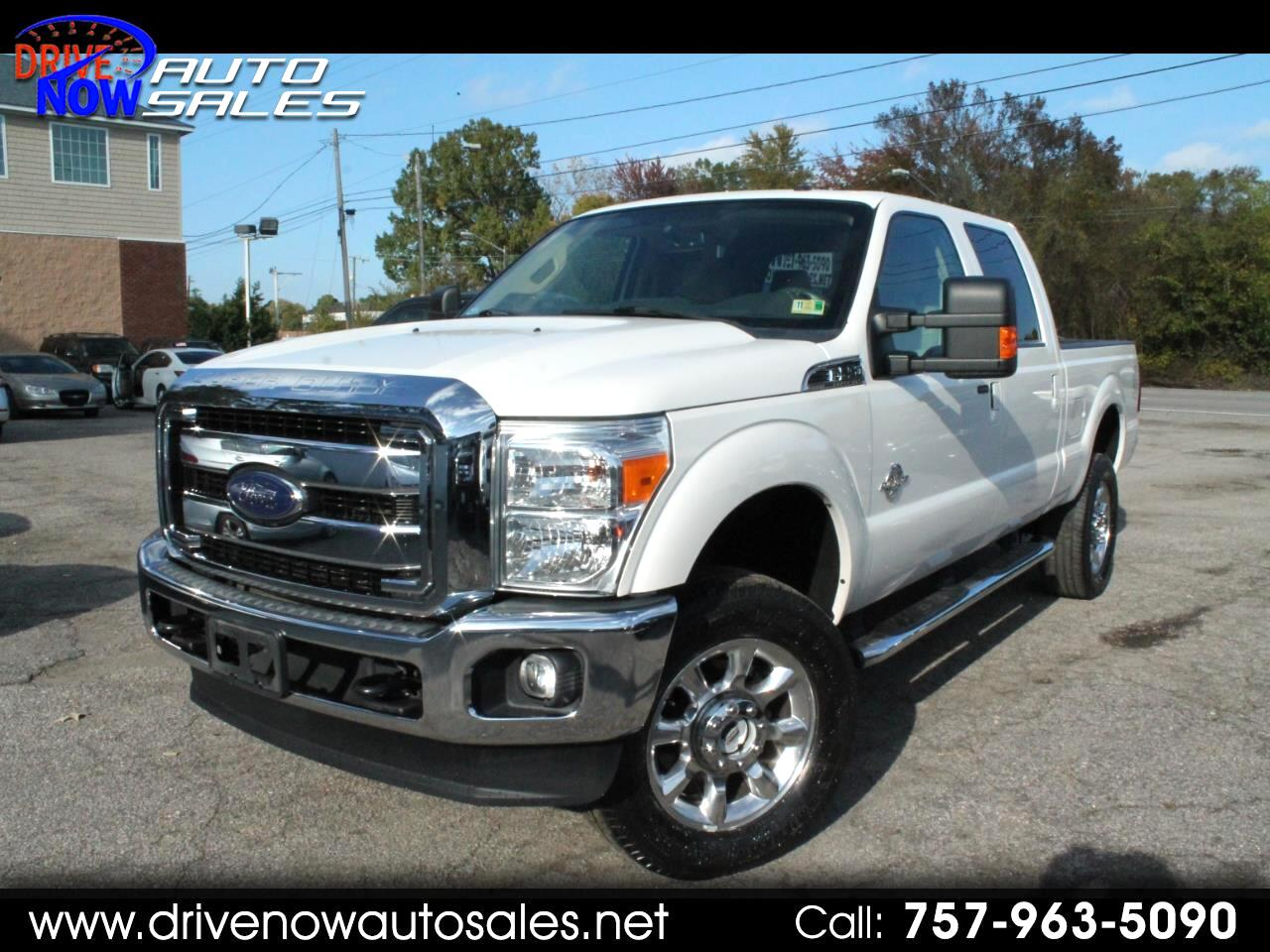 2015 Ford F-250 SD Lariat SuperCab Short Bed 4WD