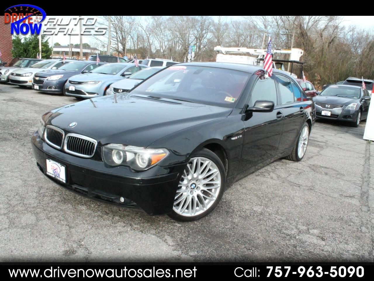 2004 BMW 7-Series 760i