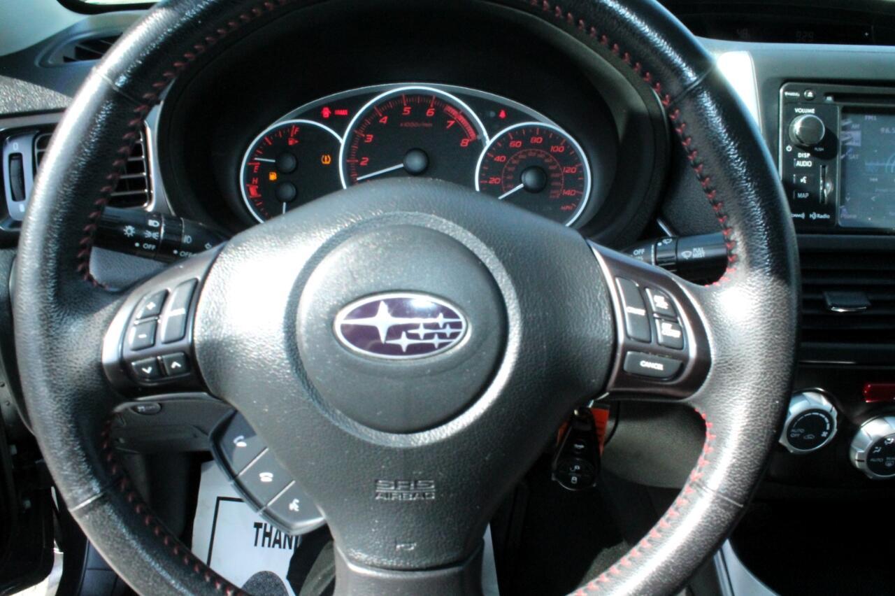 2013 Subaru Impreza WRX 4-Door